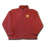 Fleece Full Zip Jacket - Merlot