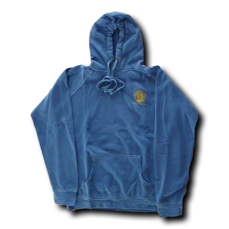Sweatshirt - Hoodie - Blue - Click Image to Close