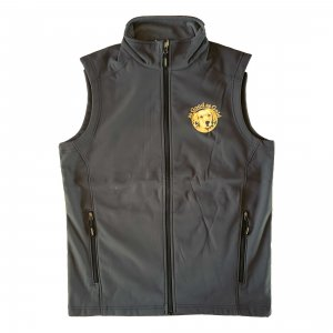 Two-Layer Fleece Soft Shell Vest