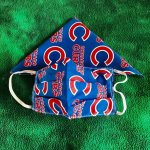 Matching Chicago Cubs Mask and Bandada (version B)