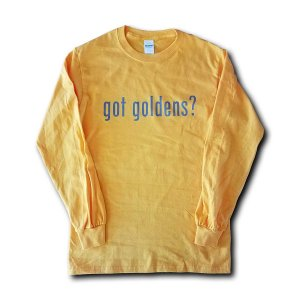 Got Goldens Long Sleeve T-Shirt - Gold