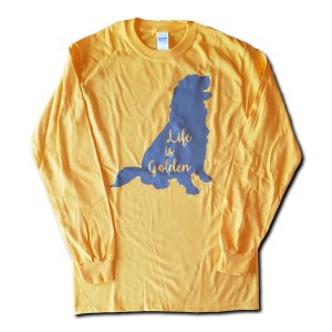 Life is Golden Long Sleeve T-Shirt - Gold