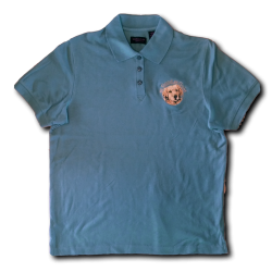 Polo Logo Shirt - Cornflower - Women's Cut