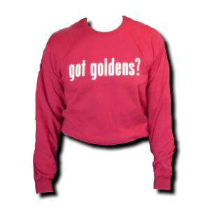 Got Goldens Long Sleeve T-Shirt - Red