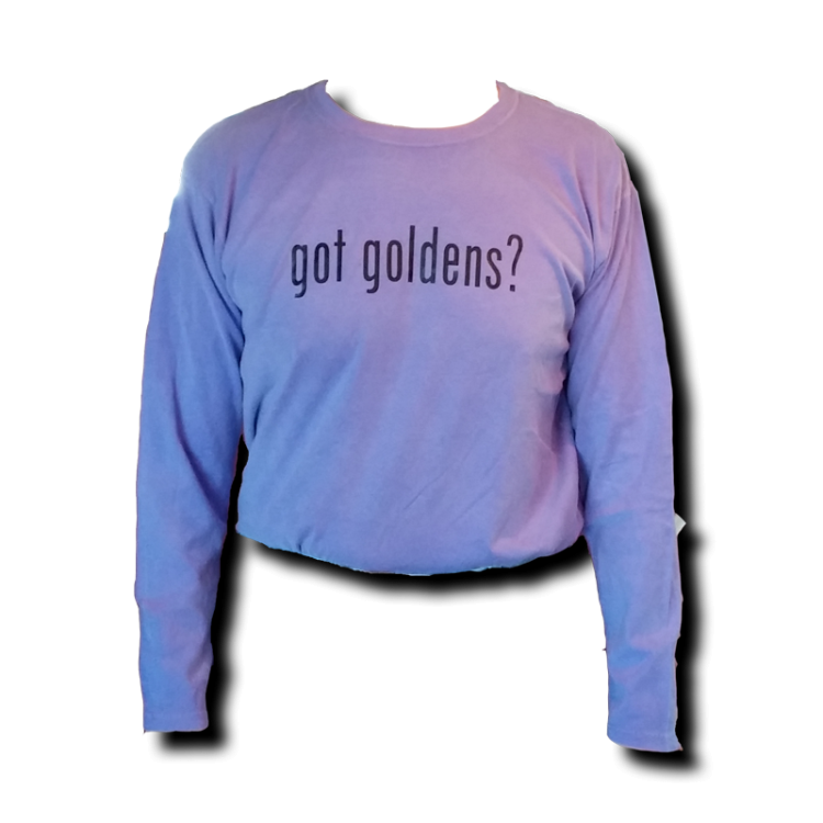 Got Goldens Long Sleeve T-Shirt - Violet