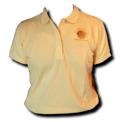 Polo Logo Shirt - Yellow - Women's
