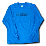 Got Goldens Long Sleeve T-Shirt - Royal Blue